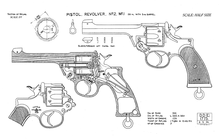on handgun schematic diagram